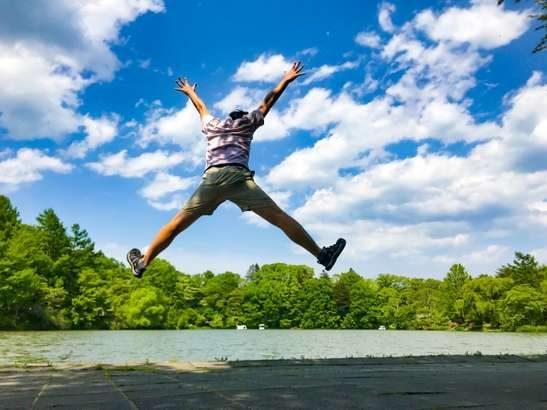 【あさチャン】跳ぶだけダイエットのやり方。1日2分でOK!その場でジャンプするだけエクササイズ(8月2日)