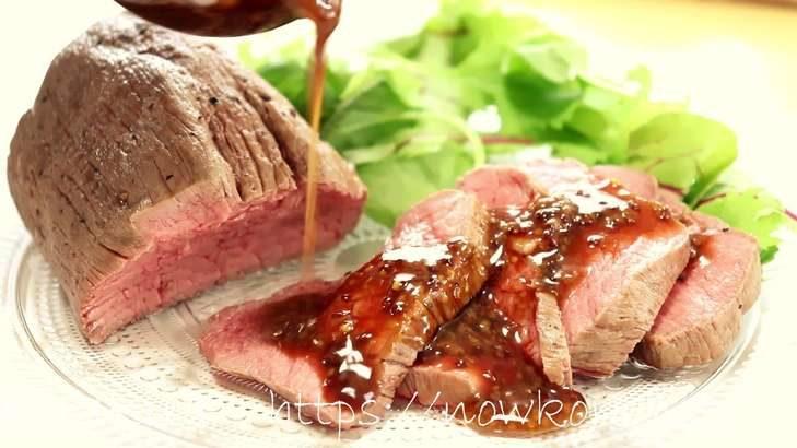 【ヒルナンデス】炊飯器ローストビーフの作り方。 梅沢富美男さんのコストコ食材アレンジレシピ(7月6日)