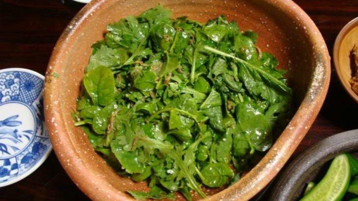 【あさイチ】春菊のアンチョビサラダの作り方。ヤミーさんのレシピ【ゴハンだよ】(9月26日)