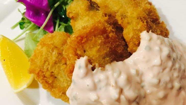 【男子ごはん】鮭のフライ和風タルタルソースの作り方。秋の和定食レシピ(9月15日)