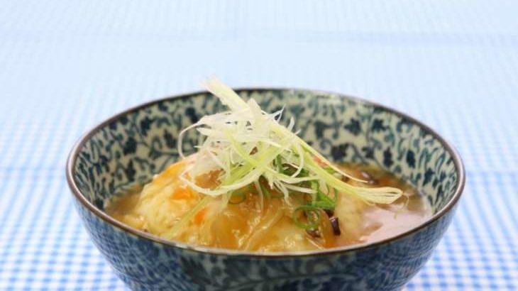 【にじいろジーン】あさりのあんかけ豆腐ステーキの作り方。ミシュランシェフの絶品和食レシピ(2月29日)