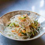 【男子ごはん】岩のりと春雨のサラダの作り方。栗原心平さんのレシピ 1月31日