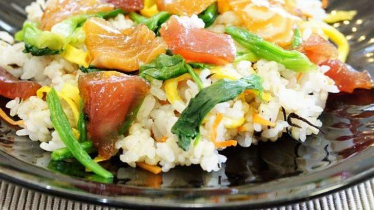 【あさイチ】香味野菜とかつおのばら寿司の作り方。篠原武将シェフのレシピ(9月10日)