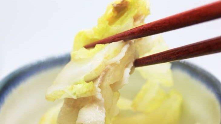 【ノンストップ】豚肉と白菜のレンジ蒸しの作り方。クラシルで話題の白菜アレンジレシピ(12月11日)