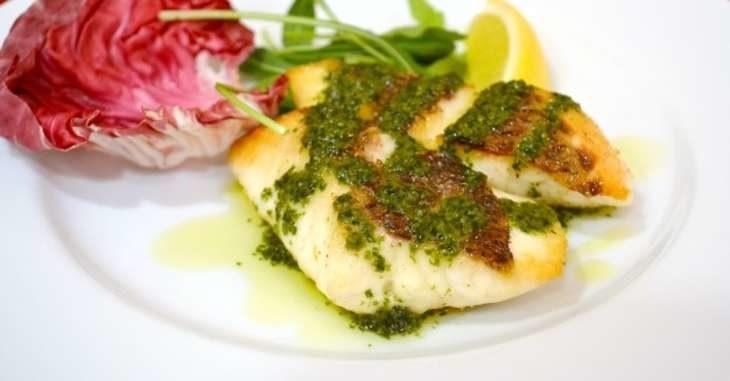 【男子ごはん】メカジキのソテー簡単ジェノベーゼソースの作り方。魚介を使った本格イタリアンのレシピ(10月6日)