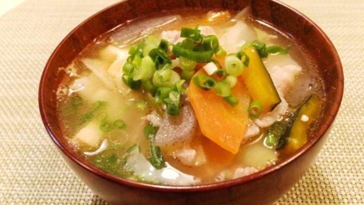 【あさイチ】ごぼうと豆腐の炒め汁のレシピ。旬のゴボウたっぷり汁物 1月14日【朝イチごはんだよ】