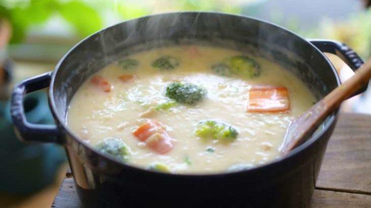 【ヒルナンデス】ポテトサラダのポタージュの作り方。残り物のポテサラで!南極シェフのリメイクレシピ(10月1日)