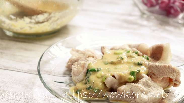 【ノンストップ】ひんやり豚のとろとろソースの作り方。平野レミさんのレシピ(5月26日)