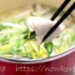 【男子ごはん】鶏のゆずしょうがみぞれ鍋の作り方・レシピ動画。栗原心平さんの酸っぱい鍋レシピ(11月3日)