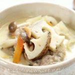 【スッキリ】美腸スープ「豚肉とれんこんの豆乳みそスープ」の作り方・レシピ動画。Atsushi(あつし)さんのレシピ第4弾(11月11日)