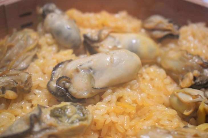 栗原はるみ牡蠣の炊き込みご飯