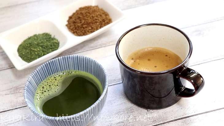 緑茶コーヒーダイエット1