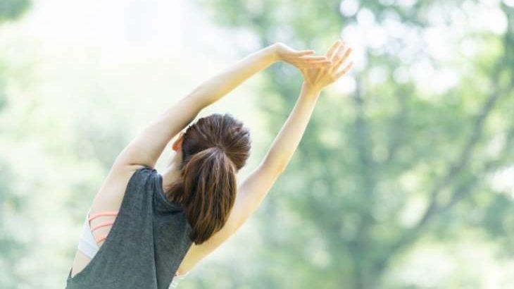 【シューイチ】超ラジオ体操のやり方と効果。毎日4分!肩こり・腰痛・むくみに効くエクササイズ(2月16日)