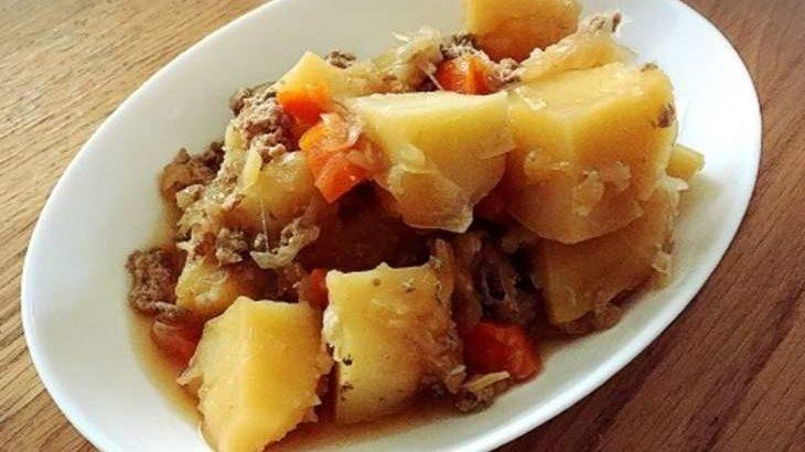 【ヒルナンデス】韓国風肉じゃが(木金レシピ)の作り方。キムチ入り煮物!小林まさみさんの冷蔵庫の残り物レシピ(12月12日