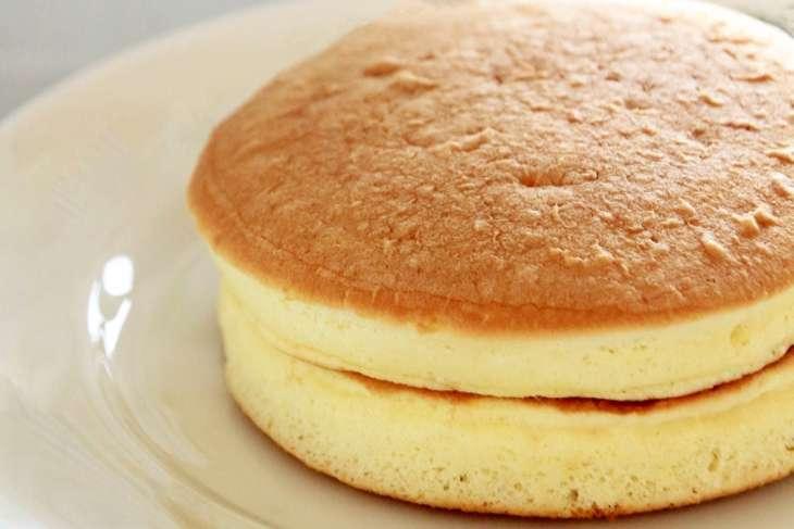 朝イチホットケーキ