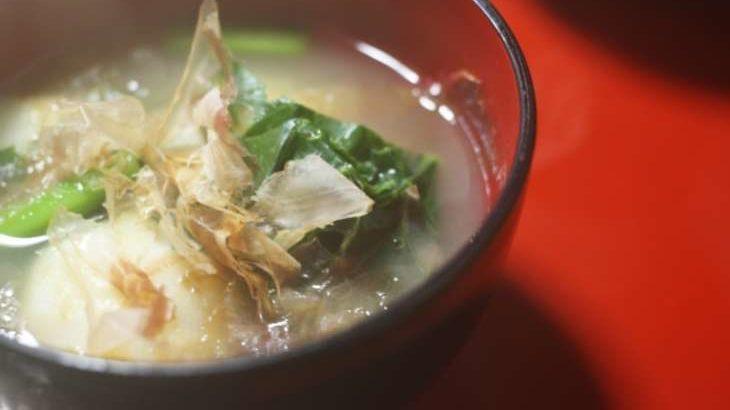 【あさイチ】揚げ餅の中華風雑煮の作り方。パン・ウェイさんのレシピ(12月23日)