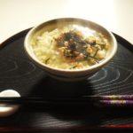 【にじいろジーン】たくあんの贅沢茶漬けの作り方。ミシュランシェフのレシピ【ふるさとクッキング】(1月25日)