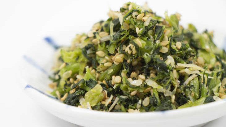【家事ヤロウ】青菜とちくわのふりかけのレシピ。和田明日香さんの簡単ちくわ料理(3月24日)