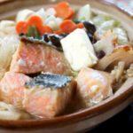 【ケンミンショー】石狩鍋の作り方。鮭とじゃがいもの絶品鍋レシピ。家庭で作れる北海道ケンミングルメ(1月23日)