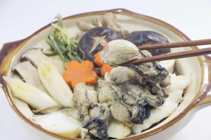 ヒルナンデス牡蠣小鍋