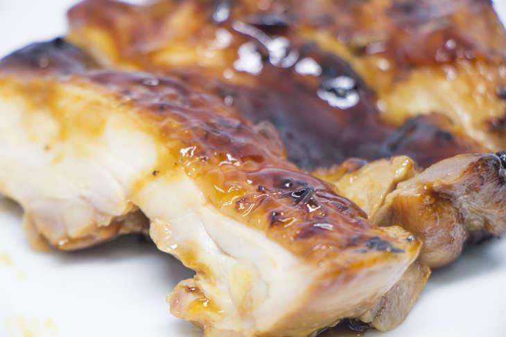 ゆうこりん鶏の照り焼き