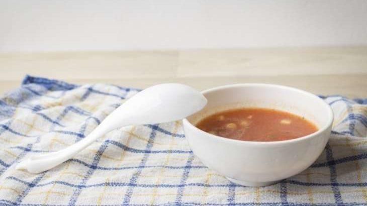 【男子ごはん】簡単トマトスープの作り方。栗原心平さんのレシピ(1月19日)