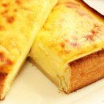 【家事ヤロウ】バスクチーズケーキトーストの作り方・レシピ動画。コンビニスイーツ風。早春のパン祭りレシピ(2月19日)