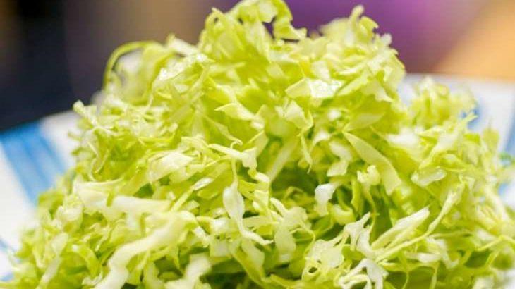 【あさチャン】湯通しキャベツのレシピ。キャベツ+海藻でダイエット!(2月26日)