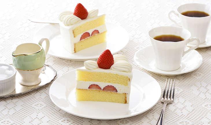 コージーコーナーのショートケーキ