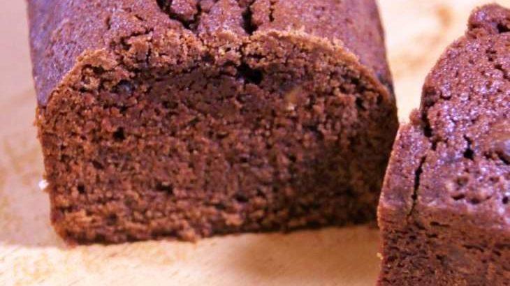 【きょうの料理】チョコレートバターケーキの作り方。栗原はるみさんのレシピ(2月11日)