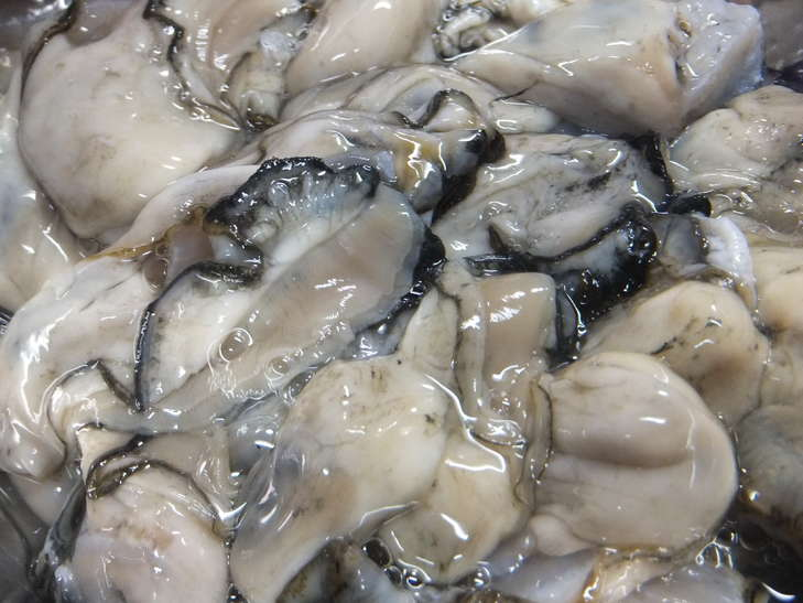 牡蠣が縮まない下処理