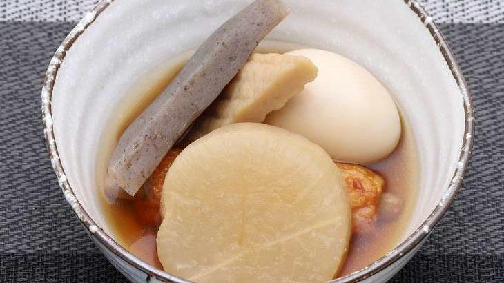 【ノンストップ】おでんうどんの作り方。笠原将弘シェフのレシピ(2月25日)