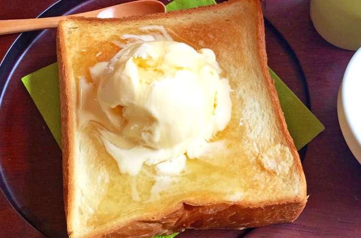 にじいろジーンレモンクリームトースト