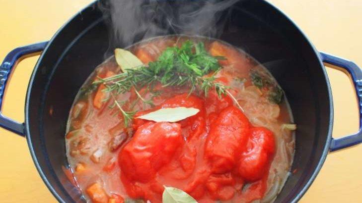 【スッキリ】豚肉とトマトのさっぱり鍋の作り方。美腸ビューティー鍋レシピ。Atsushi(あつし)さんの美調レシピ第5弾(2月10日)