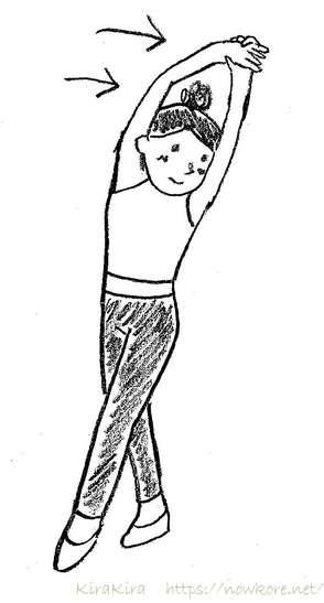 腰痛防止ストレッチ