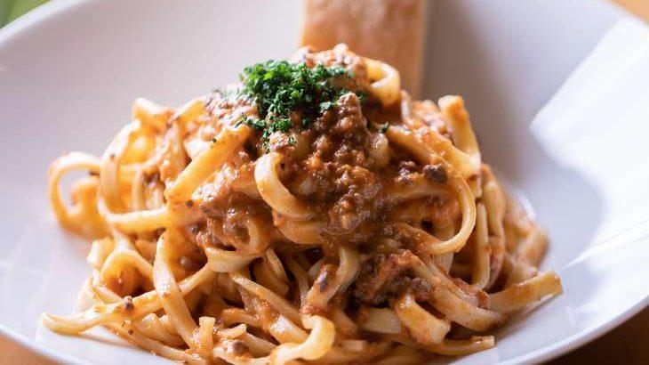 【世界一受けたい授業】和風カニカマみそパスタのレシピ。赤味噌とシナモンでかに味噌風!パスタ世界チャンピオンの味(3月28日