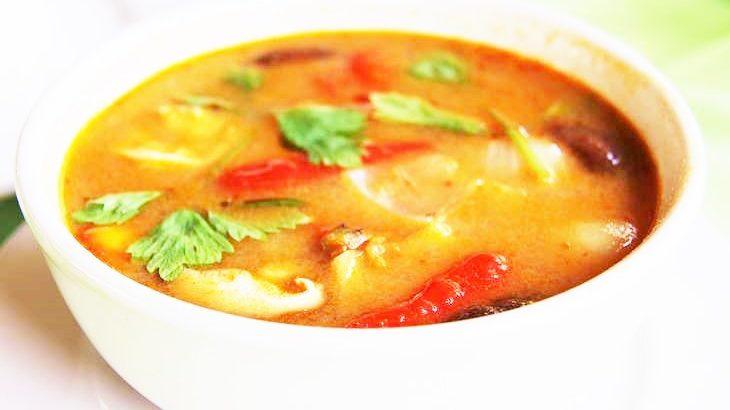 【男子ごはん】トムヤムクンの作り方。栗原心平さんの簡単タイ料理レシピ(3月22日)