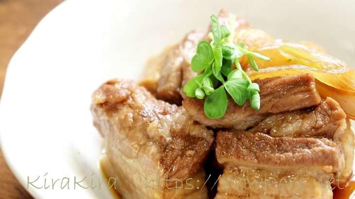 【ヒルナンデス】レンジで豚の角煮の作り方。コーラで柔らか!遠藤香代子さんの漬けるだけ簡単レシピ(8月4日)