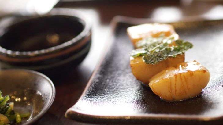 【ノンストップ】ホタテの磯辺焼きバターあんかけの作り方。笠原将弘シェフのレシピ(4月7日)