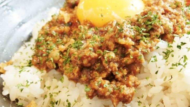 【家事ヤロウ】ほうじ茶で時短キーマカレーのレシピ。レンジで簡単!北川景子さんのレンチン肉料理 2月10日