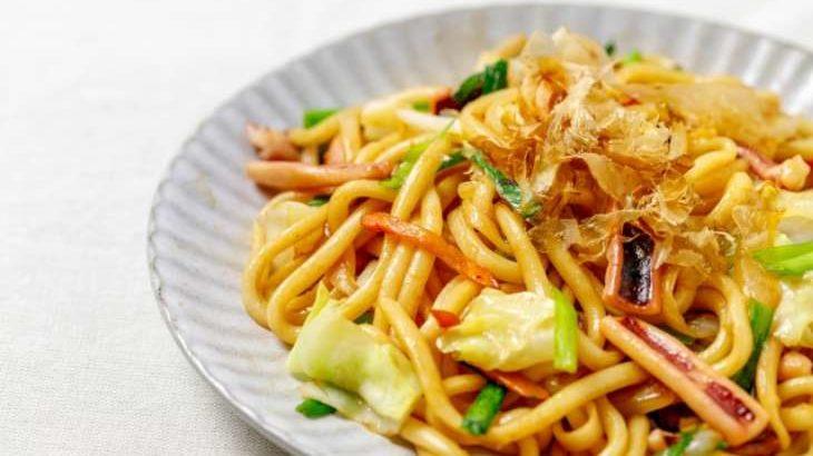 【ノンストップ】鮭のちゃんちゃん焼きうどんの作り方。坂本昌行さんのレシピ 10月16日