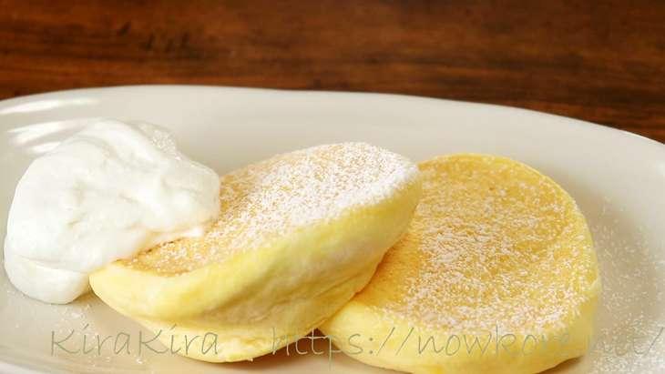 天使のふわふわスフレパンケーキ