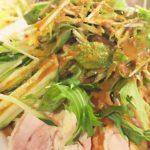 【ヒルナンデス】ホットプレートでバンバンジーの作り方。かめ代。先生の簡単料理レシピ(6月11日)