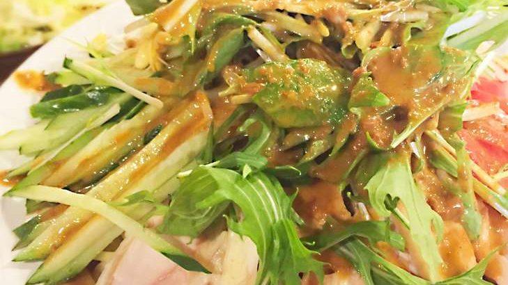 【鬼旨ラーメングランプリ】バンバンジー風サラダラーメンの作り方。八堂八店主のインスタント袋麺アレンジレシピ(5月12日)