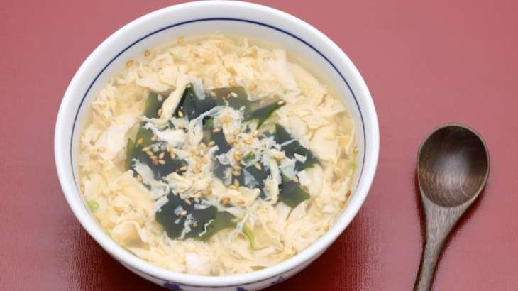 【家事ヤロウ】餅入りわかめスープの作り方。おうちグルメベスト10で話題のレシピ(5月13日)