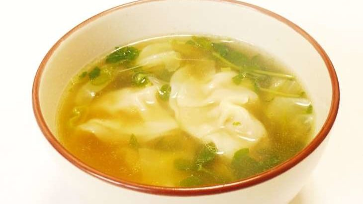 【ヒルナンデス】スープ餃子のリメイク引き算レシピ。残ったハンバーグで!さわけんさんの時短引き算クッキング(5月1日)