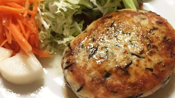 【ヒルナンデス】餃子バーグの作り方。リュウジさんの無限レンジ料理レシピ。柔らか和風ハンバーグ(6月1日)