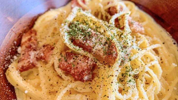 【あさイチ】しらたきカルボナーラのレシピ。牛尾理恵さんのしらたきイタリアン風。1月19日【朝イチとくもり】