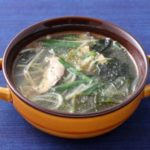 【男子ごはん】豚ひき肉と豆腐の高菜スープのレシピ。国分太一さんの白いご飯に合う料理!2月14日