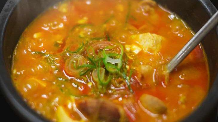 【土曜は何する】キムチチゲのレシピ。リュウジさんのワンパンご飯。フライパンひとつで!(6月19日)